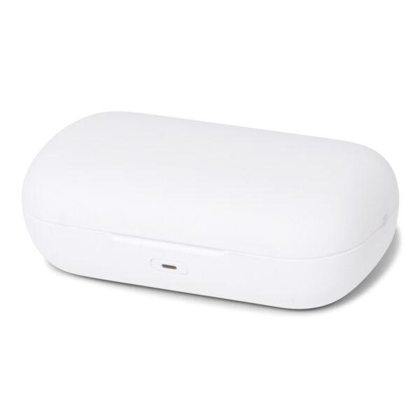38518 - BRAINZ Bluetooth Earbuds White (mailbox)